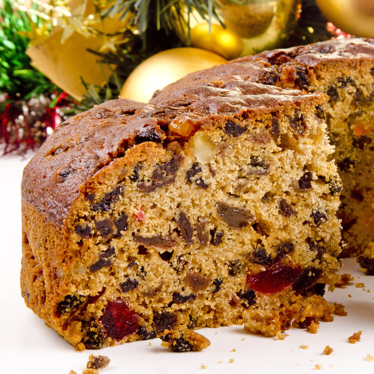 fruit cake is one of the 21 Best Vegan Christmas Dinner Recipes