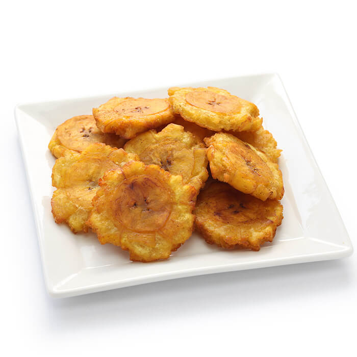 Dominican Tostones, Fried Plantains