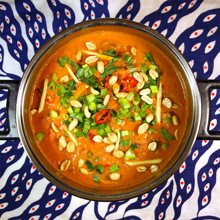 Domoda, West African Peanut Stew