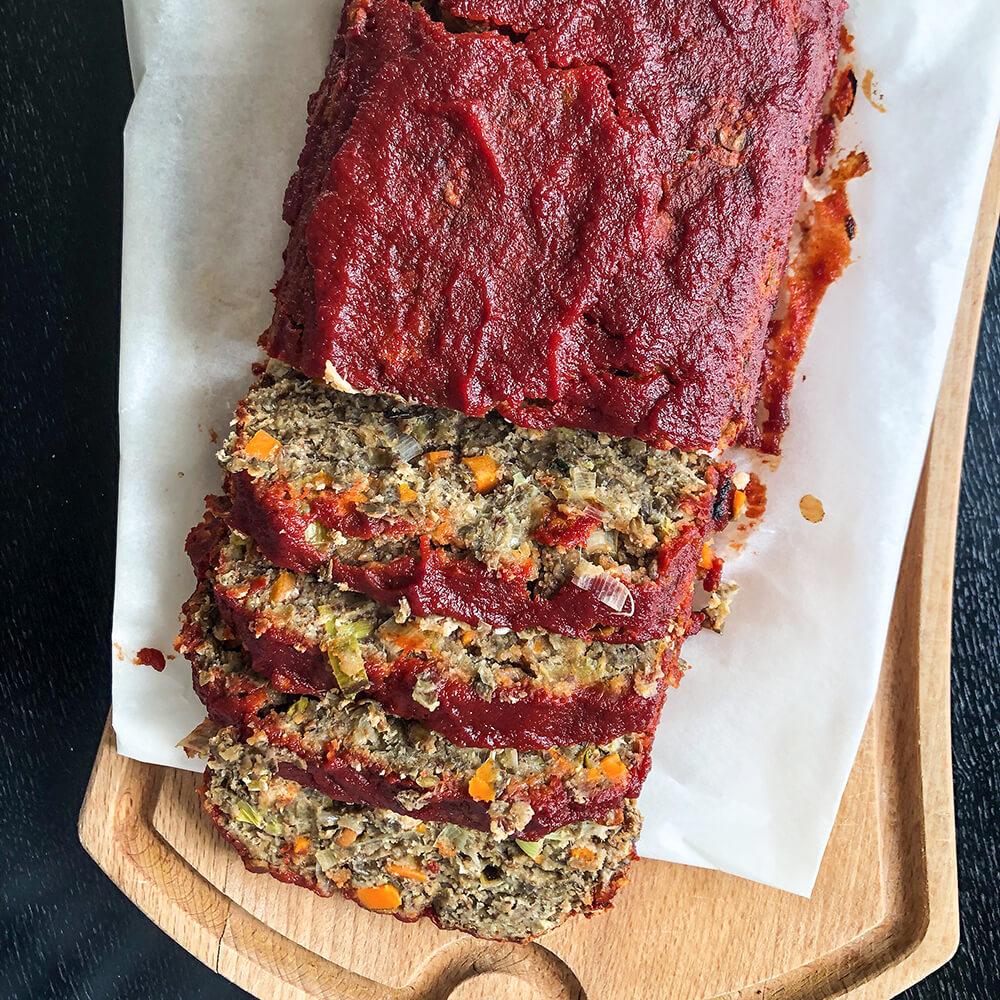 Easy Lentil Meatloaf