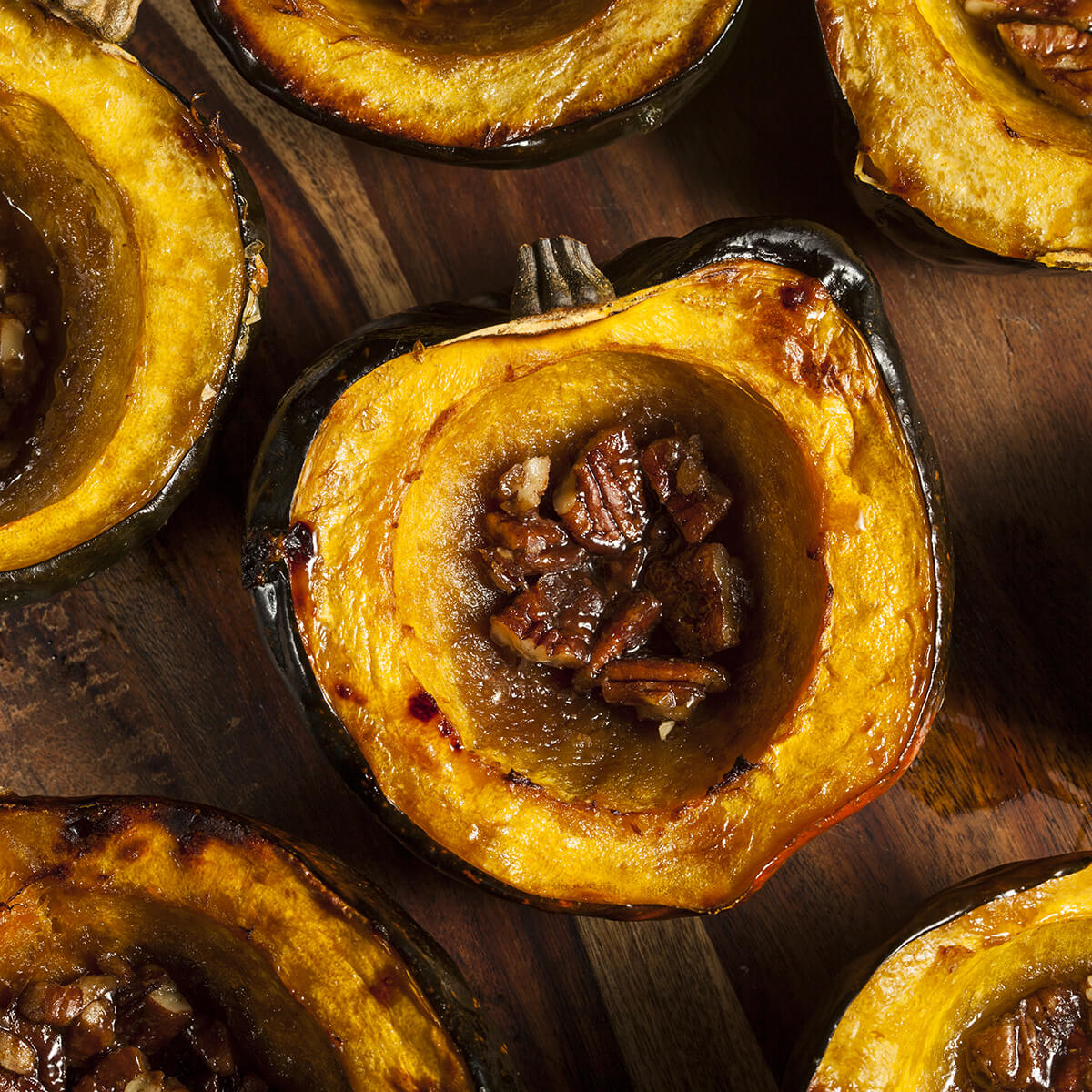 roasted acorn squash is one of the 21 Best Vegan Christmas Dinner Recipes