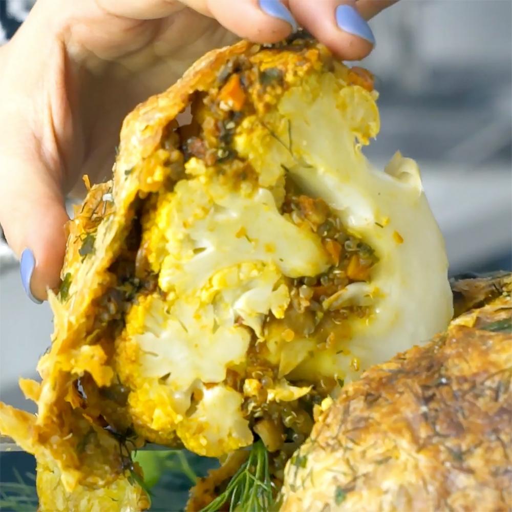 Stuffed Cauliflower