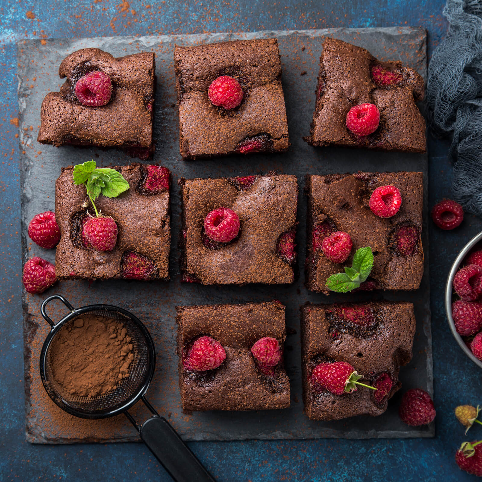 Raspberry Chocolate Brownies